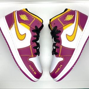 Air Jordan 1 Mid Day of the Dead GS 5y or 6.5 Wmns
